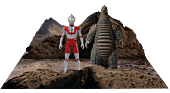 "Ultraman - Ultraman & Red King 5-Points 3.75"" Action Figure 2-Pack"
