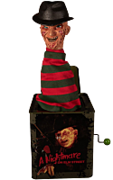 A Nightmare on Elm Street - Freddy Krueger Burst-A-Box