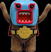 """Domo - Series 1 4"""" Action Figure Domo Wrestler"""