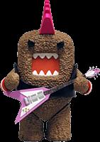 "Domo - Series 1 4"" Action Figure Domo Rocker"