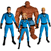 Fantastic Four - Fantastic Four One:12 Collective 1/12th Scale Action Figure Deluxe Steel Box 4-Pack