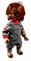 "Child's Play 3 - Pizza Face Chucky 15"" Talking Doll"