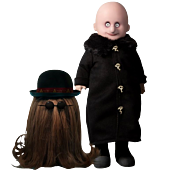 """LDD Presents - The Addams Family Fester & It 10"""" Living Dead Doll 2-Pack"""
