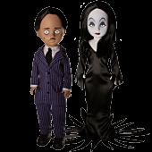 "LDD Presents - The Addams Family Gomez & Morticia 10"" Living Dead Doll 2-Pack"