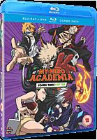 My Hero Academia - Season Three Part Two Blu-Ray / DVD Set (4-Disc) | Popcultcha