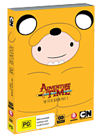 Adventure Time - The Complete Fifth Season - Part 2 DVD