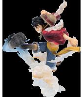 """Monkey D Luffy Gum Gum Hawk Whip Figuarts Zero 6"""" Statue"""