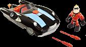 "Incredibles 2 - Incredible Car & Mr. Incredible 3"" Action Figure Set | Popcultcha"