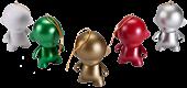 DIY Mico Munny Ornament 5-Pack