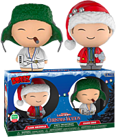 National Lampoons Vacation - Clark Griswold and Cousin Eddie Dorbz Vinyl Figure 2-Pack