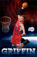 NBA - Blake Griffin LA Clippers Poster (629)