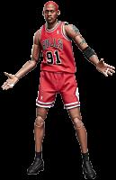 NBA Basketball - Dennis Rodman 1/9th Scale Enterbay Action Figure.