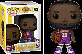 NBA Basketball - LeBron James L.A. Lakers Purple Uniform Funko Pop! Vinyl Figure.