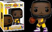 NBA Basketball - LeBron James L.A. Lakers Yellow Uniform Funko Pop! Vinyl Figure.