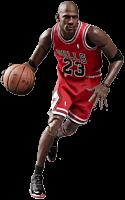 NBA Basketball - Michael Jordan 1/9th Scale Action Figure by Enterbay