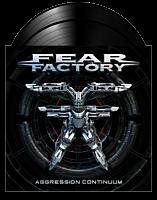 Fear Factory - Aggression Continuum 2xLP Vinyl Record