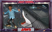 """Jaws - Quint & Shark 6"""" Scale Toony Terrors Action Figure 2-Pack"""
