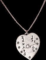 Twilight - Edward and Jacob Heart Arrow Necklace