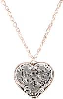 Twilight - Heart Quote Necklace