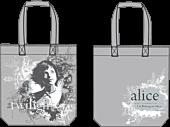 Twilight - Alice Cullen Grey Vector Distressed Tote Bag