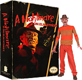 "A Nightmare on Elm Street - Classic Video Game Freddy Krueger 8"" Action Figure"