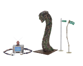"""A Nightmare on Elm St Part 3: Dream Warriors - 7"""" Scale Accessory Pack"""