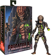 "Predator 2 - City Hunter Predator Battle-Damaged Ultimate 7"" Scale Action Figure"