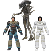 """Alien - 40th Anniversary Series 4 7"""" Scale Action Figure Assortment (Set of 3)"""