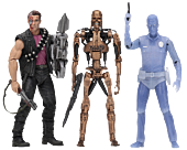 """Terminator 2: Judgment Day - Kenner Tribute 7"""" Action Figure Assortment (Set of 3)"""