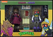 """Teenage Mutant Ninja Turtles (1987) - Splinter vs Baxter 7"""" Action Figure 2-Pack"""