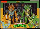 "Teenage Mutant Ninja Turtles (1987) - Captain Zarax & Zork 7"" Action Figure 2-Pack"