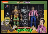 """Teenage Mutant Ninja Turtles (1987) - Rat King & Vernon 7"""" Action Figure 2-Pack"""