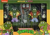 "Teenage Mutant Ninja Turtles (1987) - Napoleon Bonafrog & Attila the Frog Cartoon Collection 7"" Scale Action Figure 2-Pack"