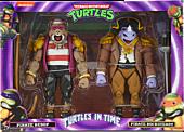 """Teenage Mutant Ninja Turtles: Turtles in Time - Pirate Bebop & Rocksteady 7"""" Scale Action Figure 2-Pack"""