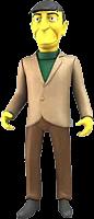 "Simpsons - 25th Anniversary - Leonard Nimoy 5"" Action Figure (Series 3)"