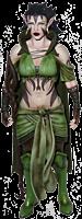 "Magic The Gathering -  Nissa Revane 7"" Legacy Action Figure"