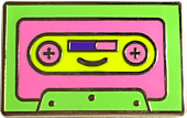 100% Soft - Lil' Cassette Enamel Pin