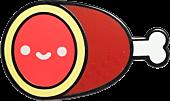 100% Soft - Lil' Hambone Enamel Pin