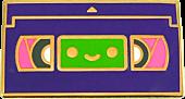 100% Soft - Lil' VHS Enamel Pin