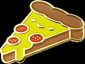 100% Soft - Pizza Forever Enamel Pin