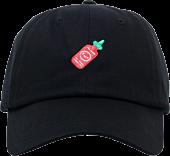 100% Soft - Sriracha Friend Black Dad Hat