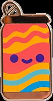 100% Soft - Lil' Pamplemousse Enamel Pin