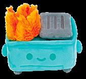 "100% Soft - Dumpster Fire 7"" Plush"
