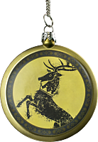 """Game of Thrones - Baratheon House Crest 3"""" Christmas Ornament (Flat)"""