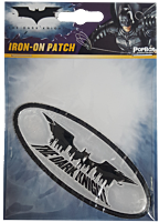 Batman: The Dark Knight - Logo with City Silhouette Iron on Patch