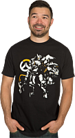 Overwatch - Justice Will Be Done Premium T-Shirt Main Image
