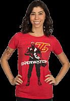 Overwatch - Vigilante Female T-Shirt Main Image