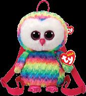 Beanie Boos - Owen the Owl Plush Backpack   Popcultcha