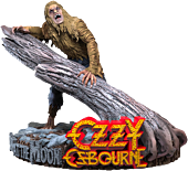 Ozzy Osbourne - Bark at the Moon Rock Iconz 1/9th Scale Statue by Knucklebonz