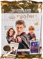 Harry Potter - Welcome to Hogwarts Panini Trading Cards Collector's Album with 3 Booster Packs